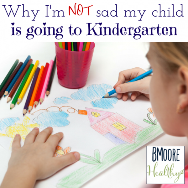 Why I'm not sad my child is going to Kindergarten