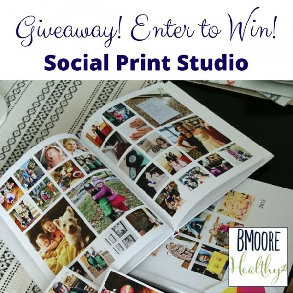 Social Print Studio Giveaway