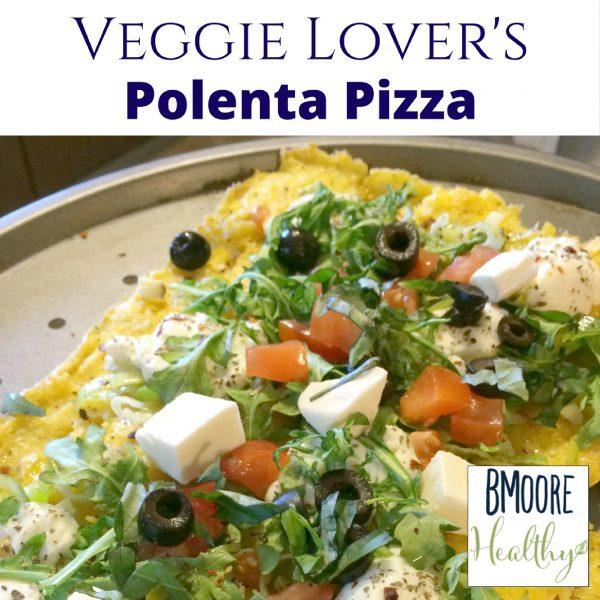 Veggie Lover's Polenta Pizza