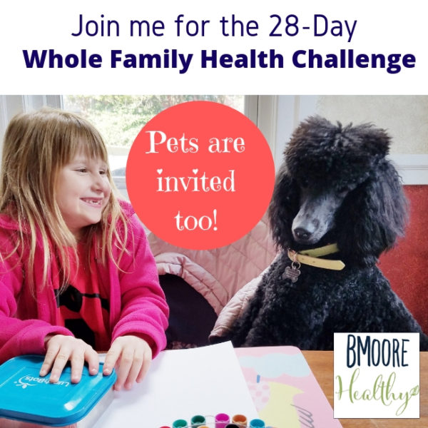 Join me for the 28 Day Whole Family Health Challenge!