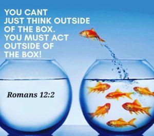 ...Be Ye Transformed!