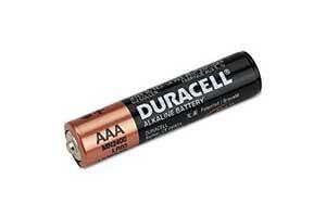 Duracell Batteries AAA, AA, 9V