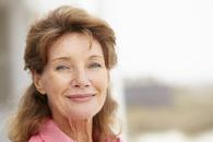 Senior woman head and shoulders