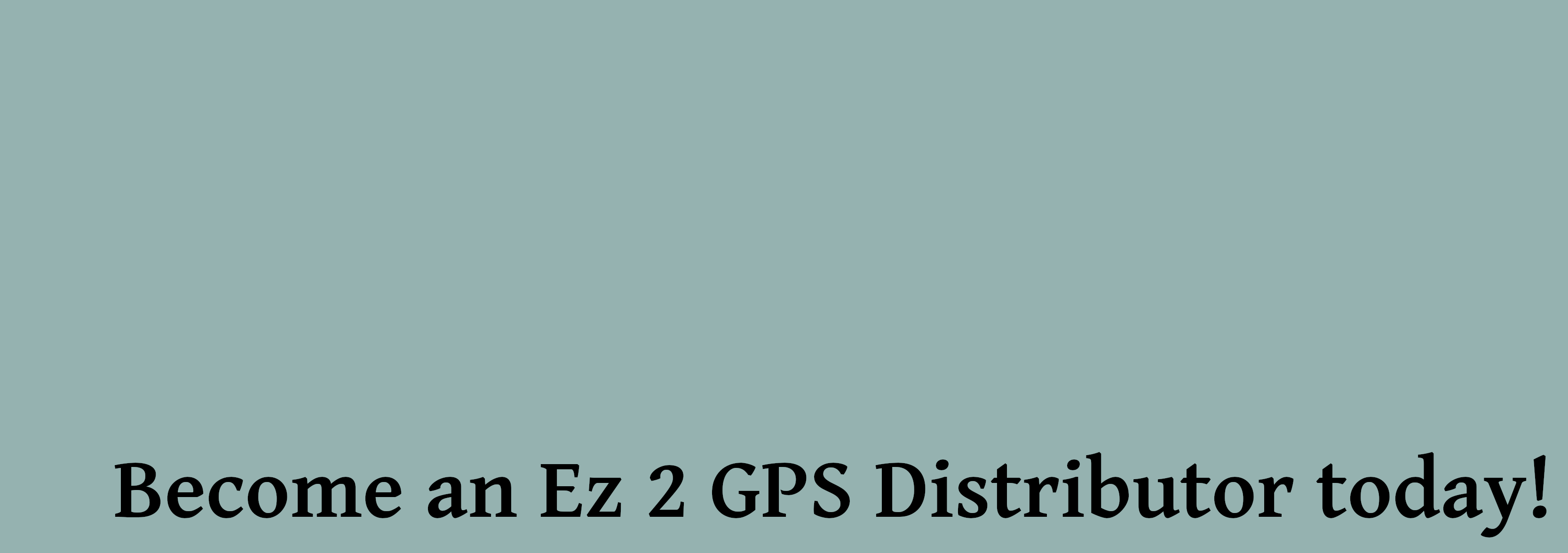Ez 2 GPS