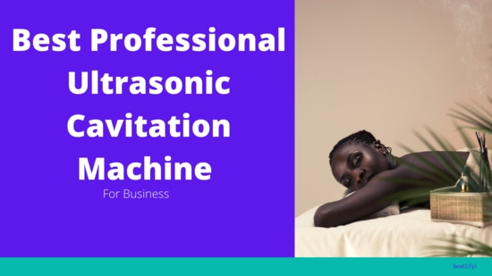 Best Professional Ultrasonic cavitation machine