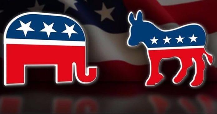 Democrats vs Republicans Approval rating