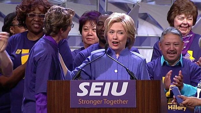 SEIU Freedom Foundation fight
