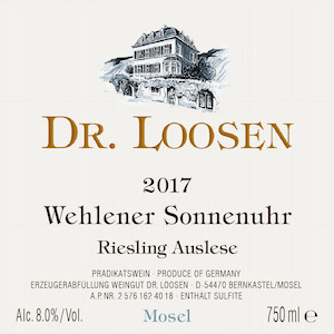 Dr. Loosen Wehlener Sonnenuhr Auslese