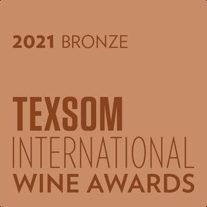 TEXSOM International Wine Awards 2021 Bronze Medal