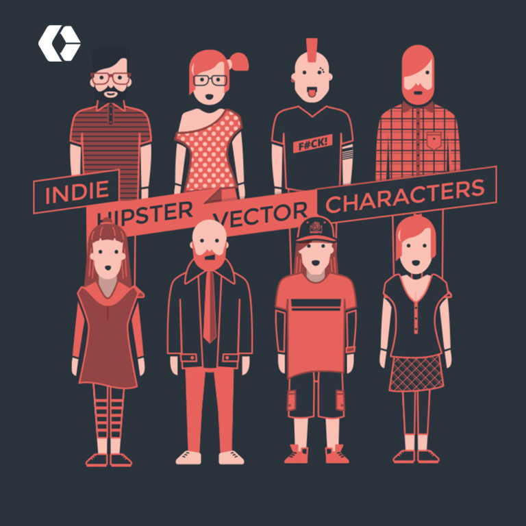 Character Illustration – BW / Flat Color