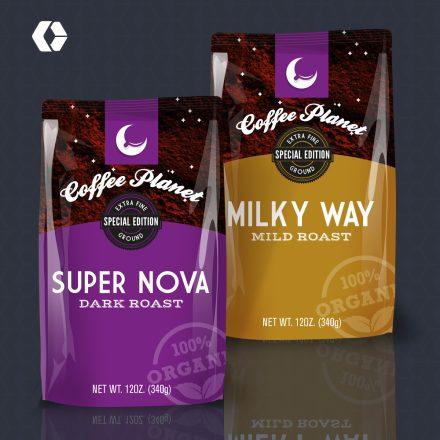 CoffeePlanet CBx Packaging
