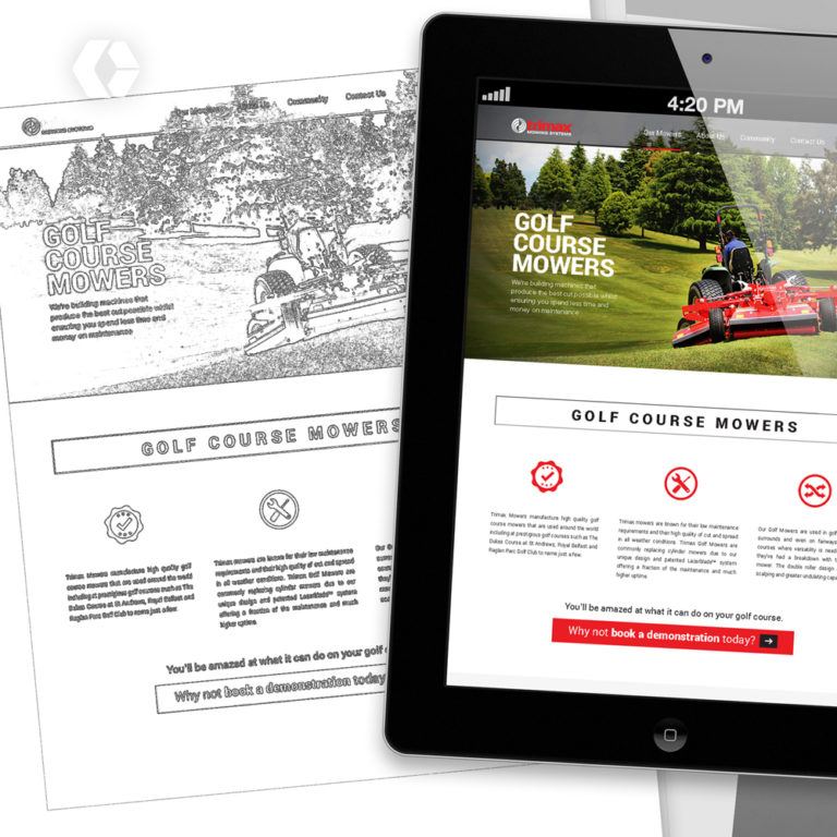 Landing Page Web Design