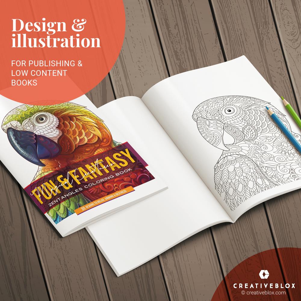 Zentangles KDP Books Illustration