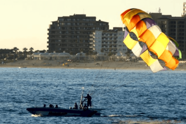 Another great parasailing afternoon Image.