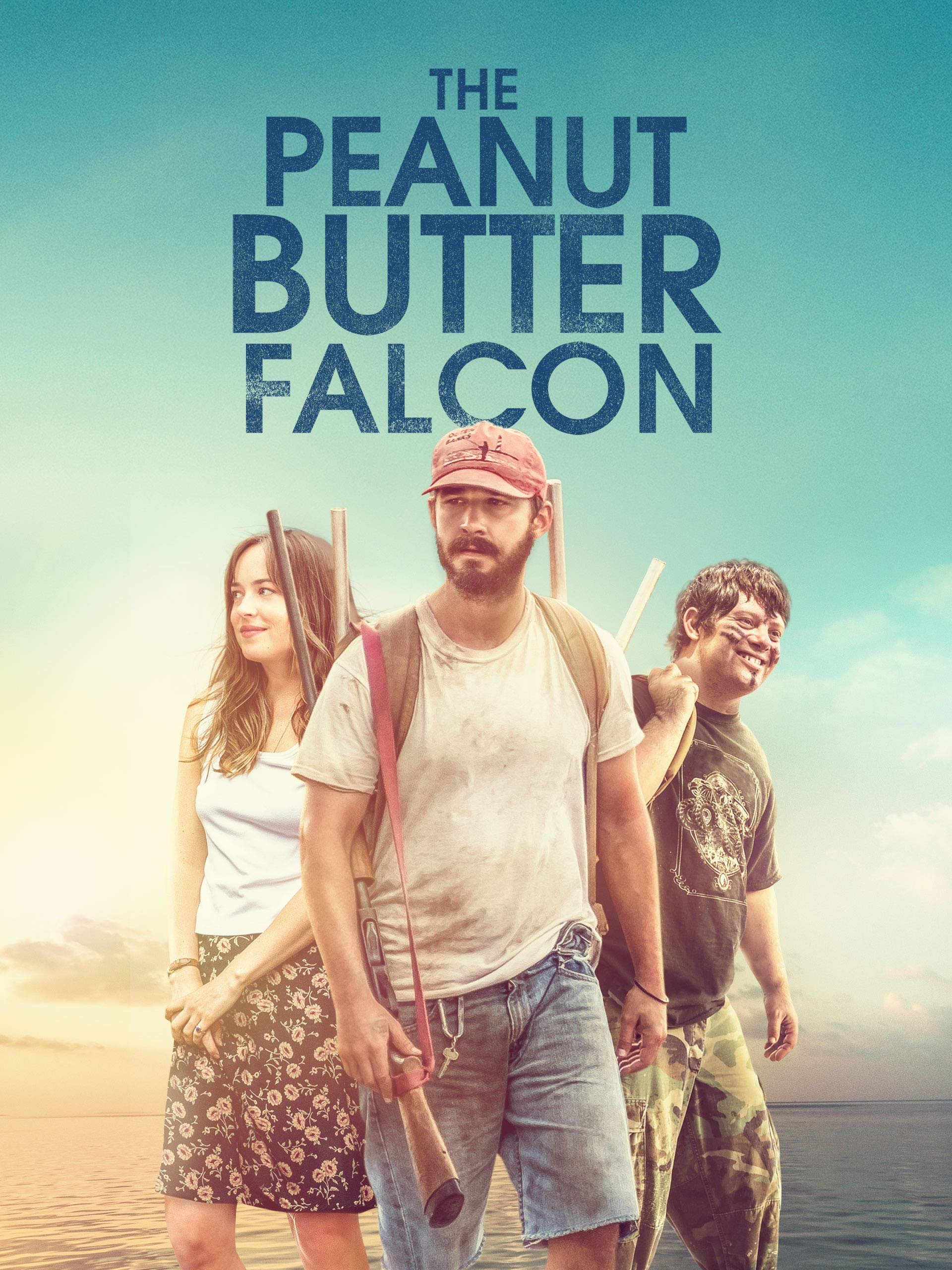 image of the Peanut Butter Falcon movie with the 3 main characters