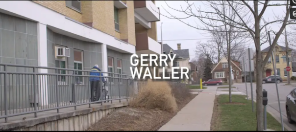 Gerry Waller is highlighted in this video.
