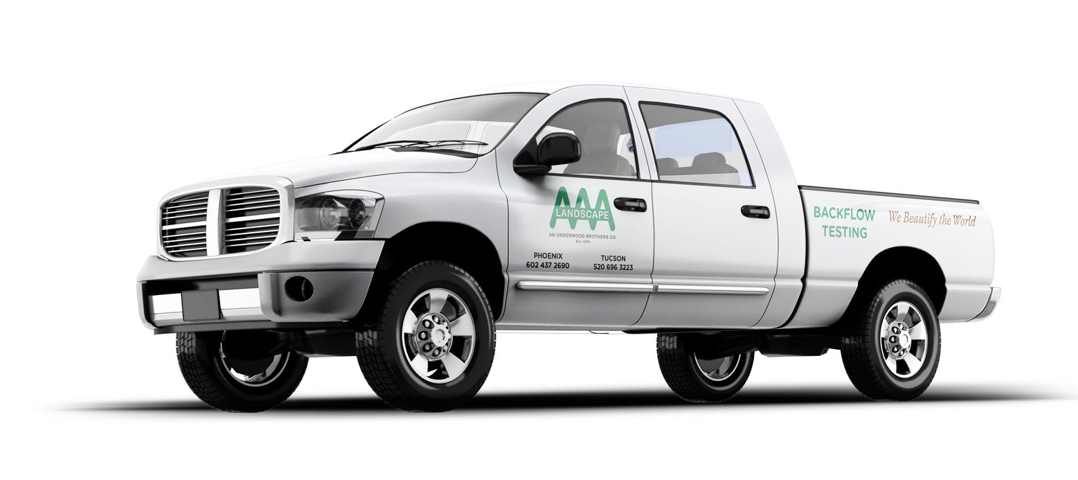 AAA Landscape Truck Decals
