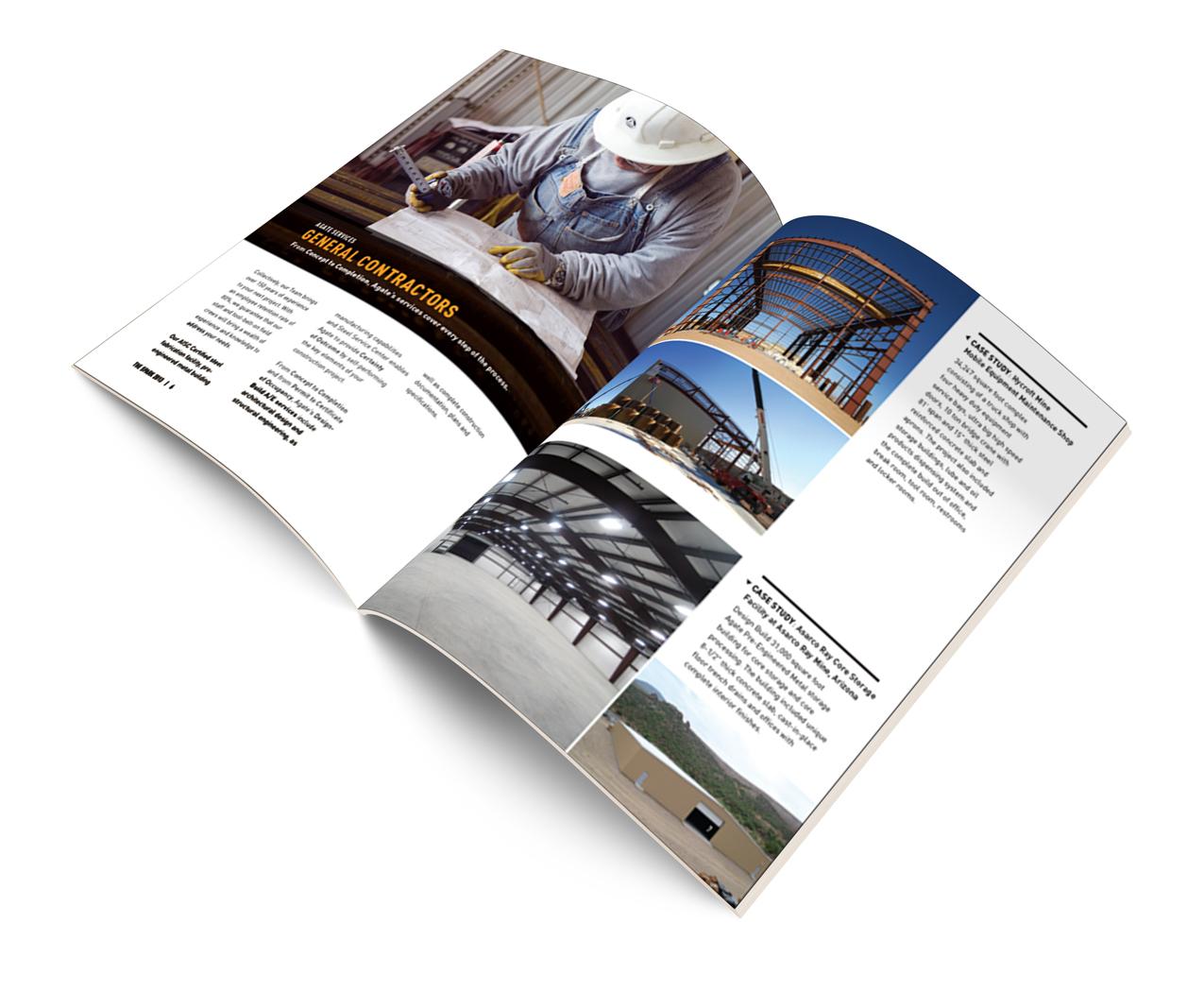 AGATE Newsletter Design