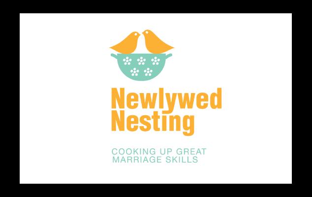 newlywed nesting logo