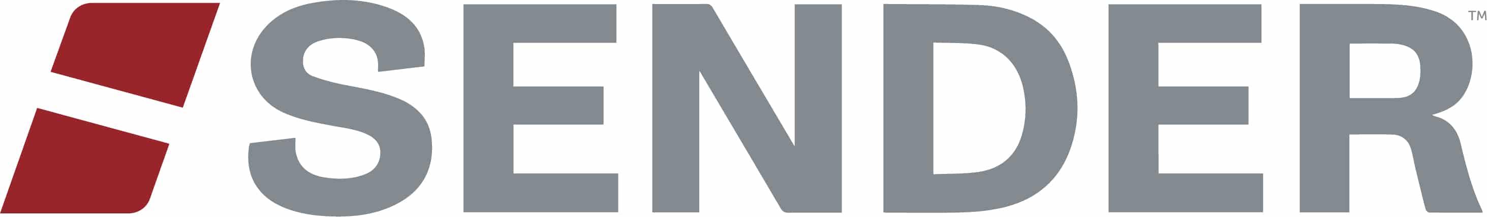 sender rebrand new logo