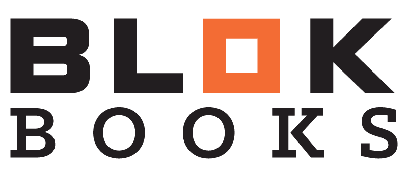 blok books notebook design - logo