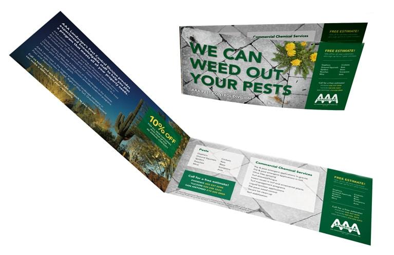 AAA Landscape Flyer Ad