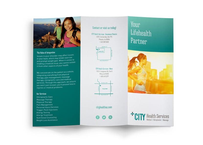 CITY Health Services Rebrand