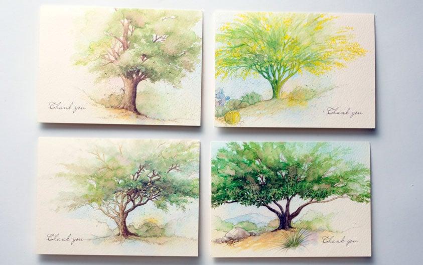 aaa landscape cards