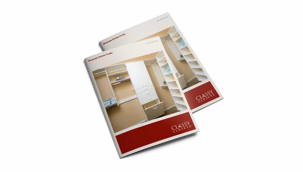 Classy Closet Brochures