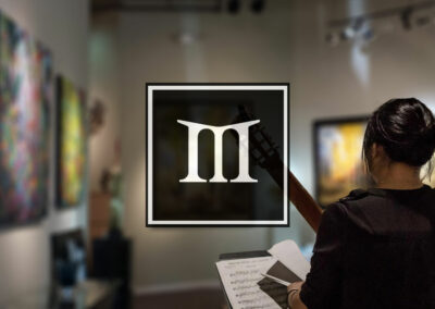Website Design & Print Collateral – Marshall Art Gallery
