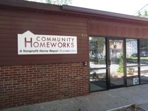 Community Homeworks Front Door