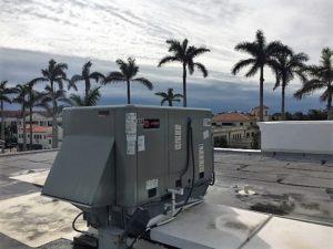 HVAC package unit