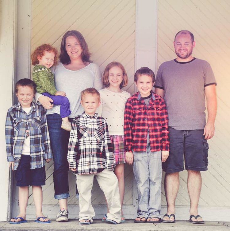 Dana Gerrits and her family, nomads, homeschool, chronic illness, The Brave Files Podcast