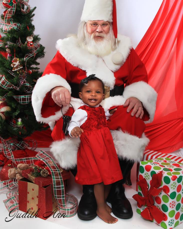 """Danny Jones loves being """"the real Santa"""" and is happy to chat with children all year long! The Brave Files Podcast."""