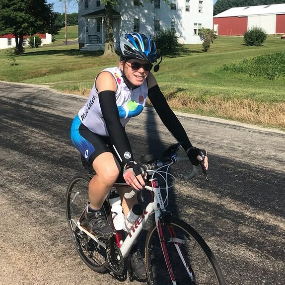 Denise Bowker does a 5---mile bike ride to raise money for runaway LGBTQ youth. The Brave Files Podcast.