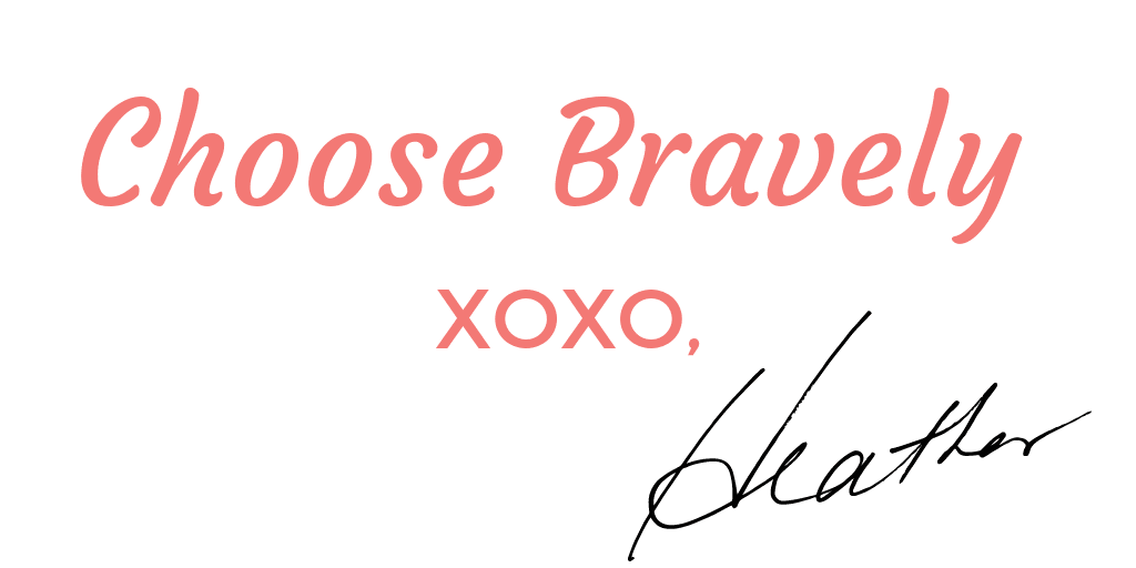Heather Vickery, Leadership and success coach. Choose Bravely