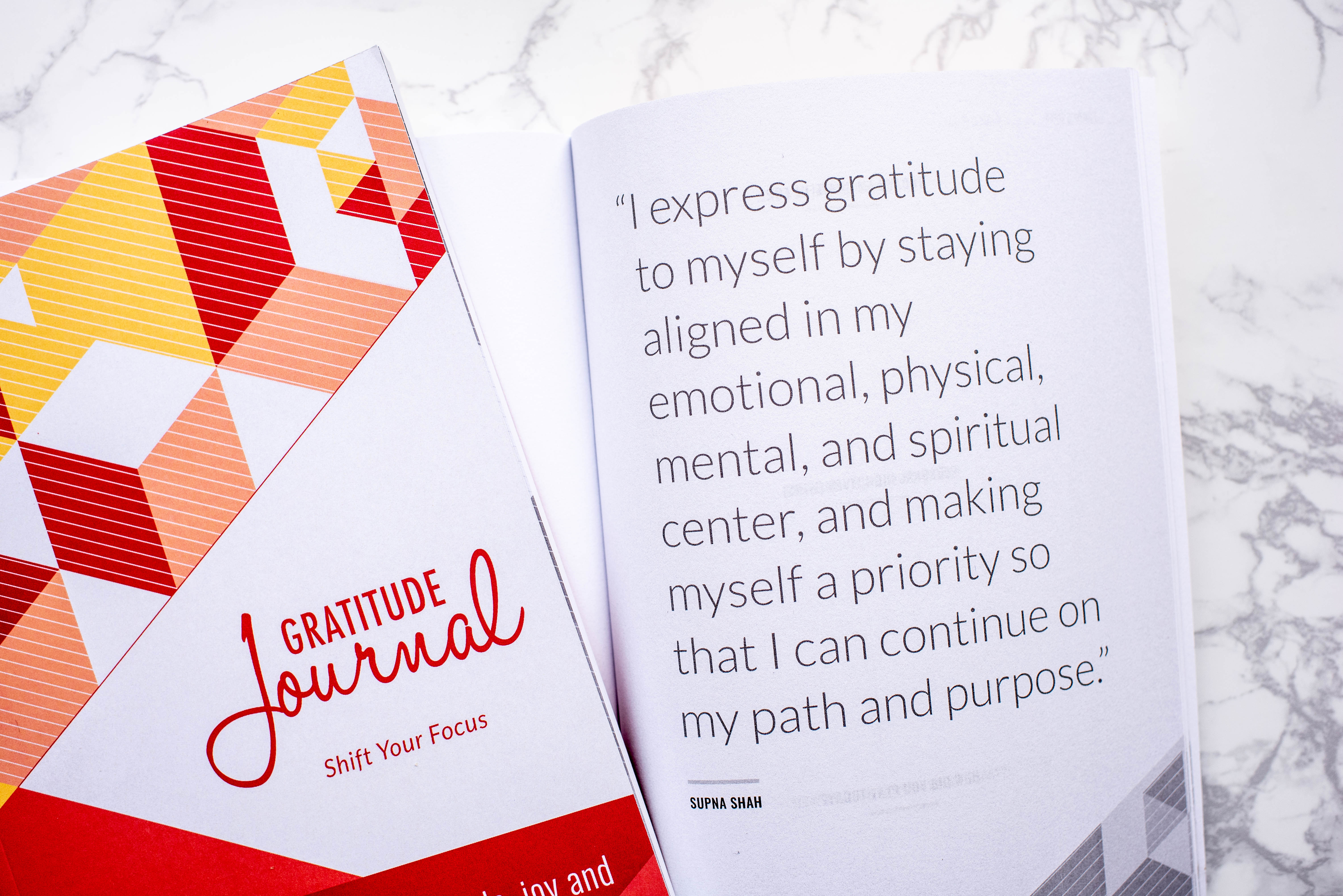 Supna Shah, Vickery and Co, Gratitude Journal. The Brave Files Podcast