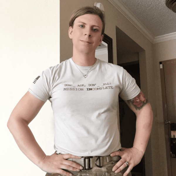 Patricia (Trish) King, America's first Transgender Infantryman. Transgender Military Ban. The Brave Files Podcast. Creating Change.