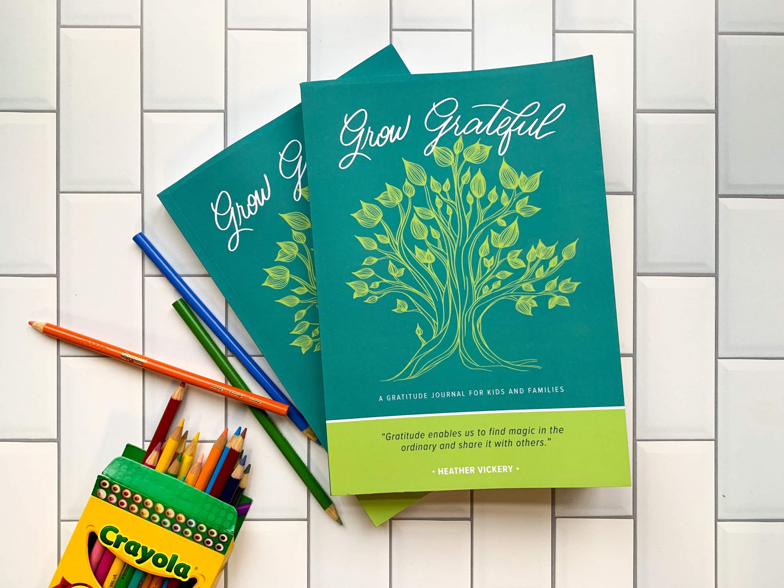 Grow Grateful: A Gratitude Journal for Kids and Families, Heather Vickery