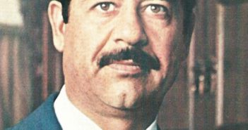 Saddam circa 1979, the year on which he assumed the Iraqi presidency