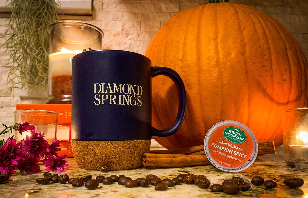 Pumpkin Spice with Diamond Springs