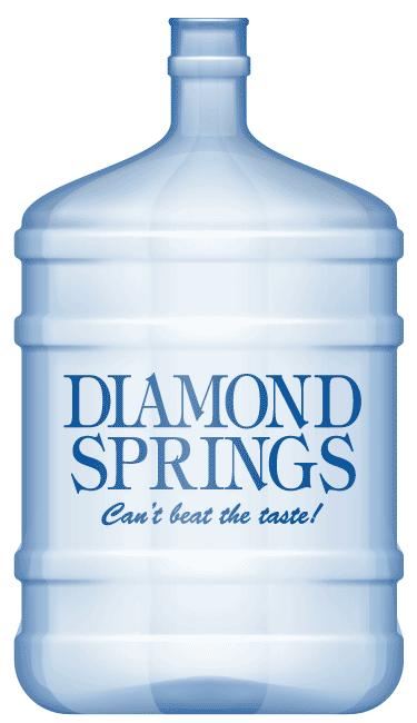 Diamond Springs 5 Gallon Water Bottle