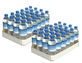 Two Cases of .5 Liter Bottles of Spring Water
