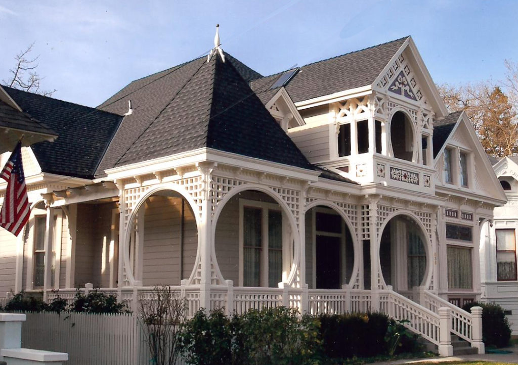 Victorian Painting and restoration of historic houses in Woodland Davis Sacramento Yolo County by Easton Painting 00
