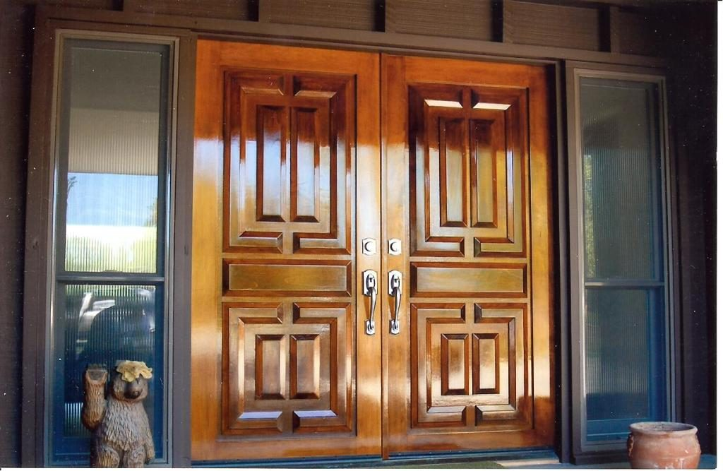 Door Painting and Restoration in Woodland Davis Sacramento Yolo County by Easton Painting