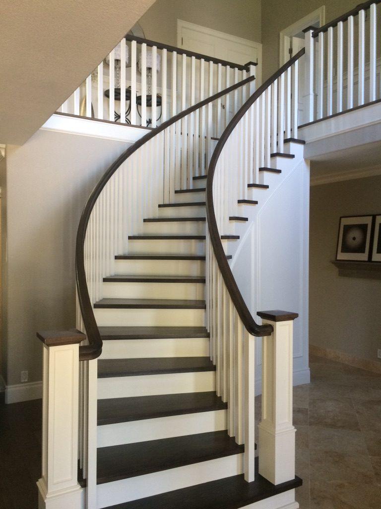 Stair Railing Repair Finish Woodland CA Easton Painting