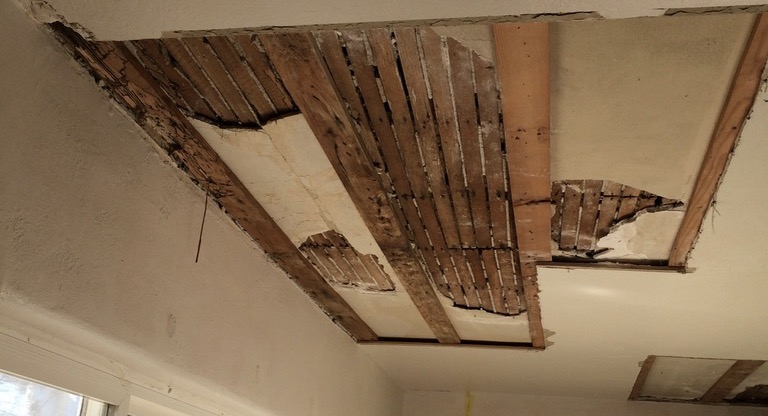 Water Damage and Plaster Repair Woodland CA Easton Painting