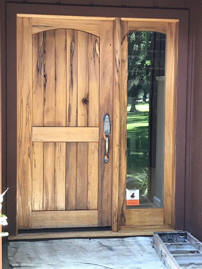 Wooden Door Restoration Woodland CA Easton Painting