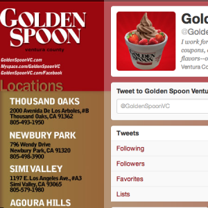 Golden Spoon Twitter campaign