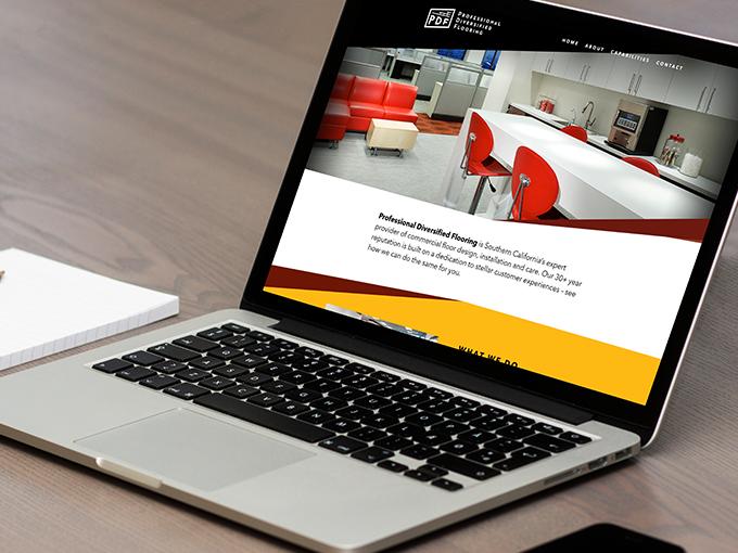 PDF flooring desktop website screenshot